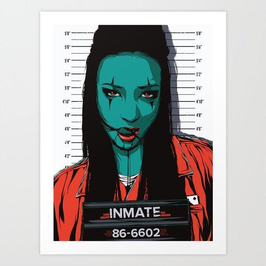 Inmate #86 Art Print