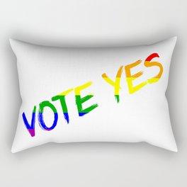 Australia Marriage Equality Vote Yes Rectangular Pillow