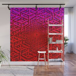 Hive Minded Raw Wall Mural