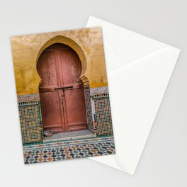 Morrocan Door and Tile Work Stationery Cards