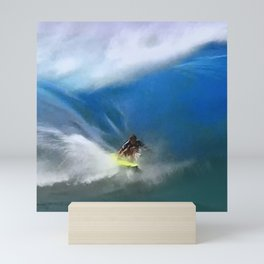Zen and the Awesome Art of Surfing Mini Art Print