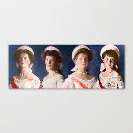 OTMA 1910 Formals - Colorized Canvas Print