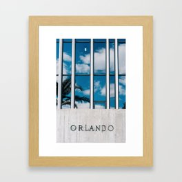 Orlando Framed Art Print