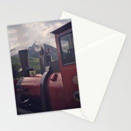Train at the End of the World Stationery Cards