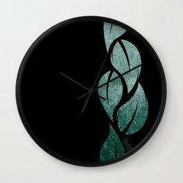 falling leaves II Wall Clock