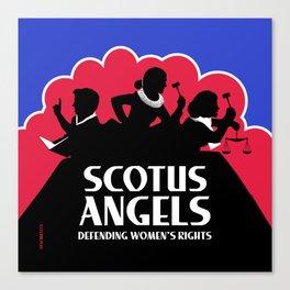 SCOTUS Angels - SQUARE - Tools of Law Nonviolent Edition Canvas Print