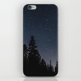 Star Night in the Woods | Nature and Landscape Photography iPhone Skin