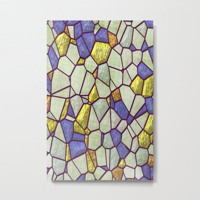 Glass II Metal Print