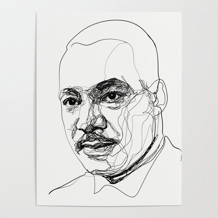Martin L. King Jr. Poster