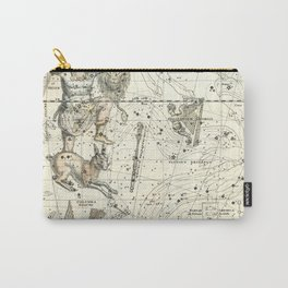 Orion, Lepus, Columba Constellations, Celestial Atlas Plate 23, Alexander Jamieson Carry-All Pouch