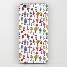 Poisoned mashrooms iPhone Skin