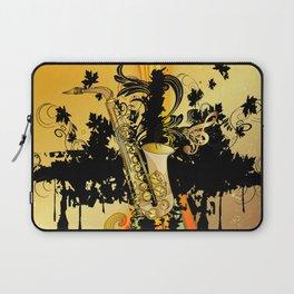 Saxophone Laptop Sleeve