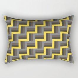 Plus Five Volts - Geometric Repeat Pattern Rectangular Pillow