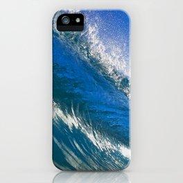 Hot Blue iPhone Case