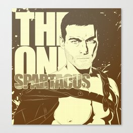 THE ONE SPARTACUS II Canvas Print