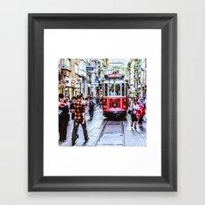 Istanbul Travel Diary 06 Framed Art Print