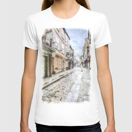 The Shambles York Snow Art T-shirt