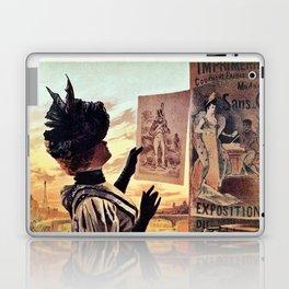 1895 Paris Centennial of Lithography Laptop & iPad Skin