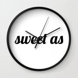 Sweet As New-Zealand Wall Clock
