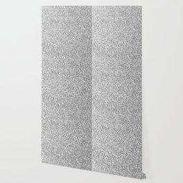 Beautiful Silver glitter sparkles Wallpaper