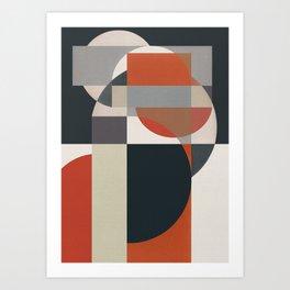 Geometric Roots 3 Art Print