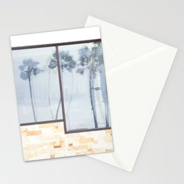 Rainy Days and Palm Tree Reflections Stationery Cards