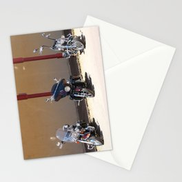 Motorcycle Parade Stationery Cards