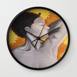 Manicure (Solar Plexus Chakra) Wall Clock