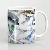 soldier Mugs featuring The Forgotten Soldier by FAMOUS WHEN DEAD