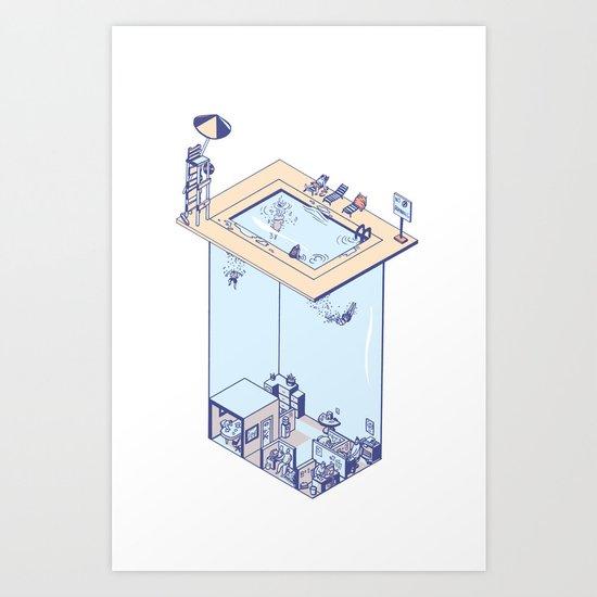 The Office Pool Art Print