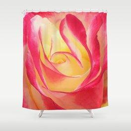 Summer Rose Untouched Shower Curtain