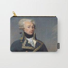 Portrait of Lafayette by Joseph désiré Court Carry-All Pouch