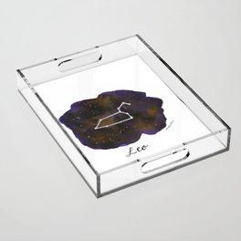 Leo Acrylic Tray