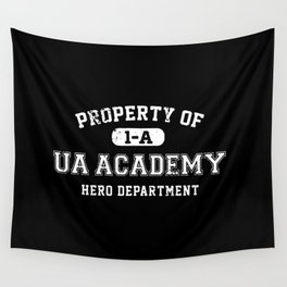 Property of UA Academy Wall Tapestry