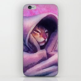 Cozy Cat iPhone Skin