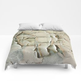 Dying wall Comforters