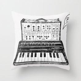 Keyboard.  Throw Pillow