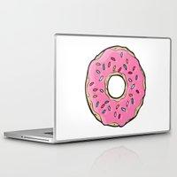 doughnut Laptop & iPad Skins featuring Doughnut by Sara Eshak