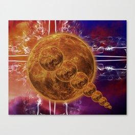 Hot Rocks Canvas Print
