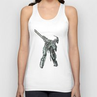 metal gear Tank Tops featuring Metal Gear Solid LS  by Hisham Al Riyami
