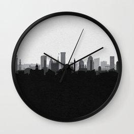 City Skylines: Baltimore (Alternative) Wall Clock