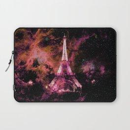 Paris Dreams Fuchsia Pink Peach Laptop Sleeve