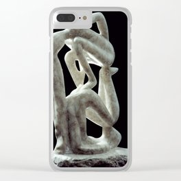 Amnon and Tamar by Shimon Drory Clear iPhone Case
