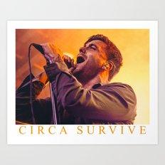 CIRCA SURVIVE Art Print