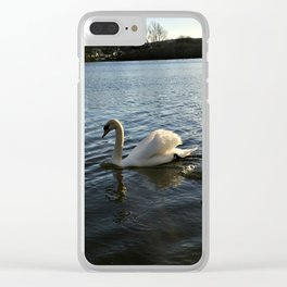 Irish Swans Clear iPhone Case