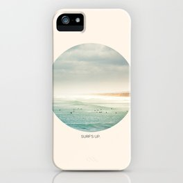 surf's up. iPhone Case