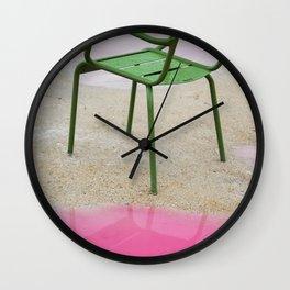 La Chaise Wall Clock