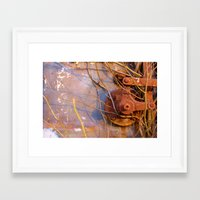 heavy metal Framed Art Prints featuring Heavy Metal by sunnywc