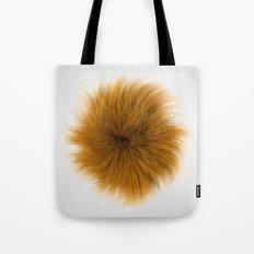 Orange Fuzz Tote Bag