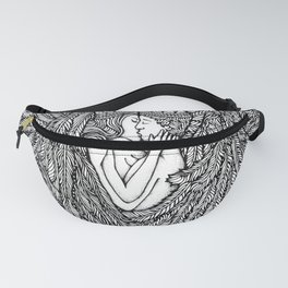 Love Angles by Kent Chua Fanny Pack
